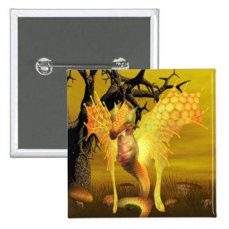 Golden Dragon Pin