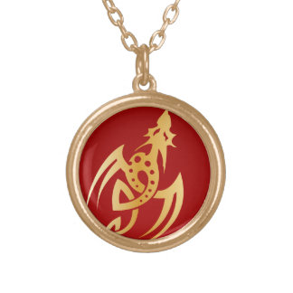 Golden Dragon vol3 Gold Plated Necklace
