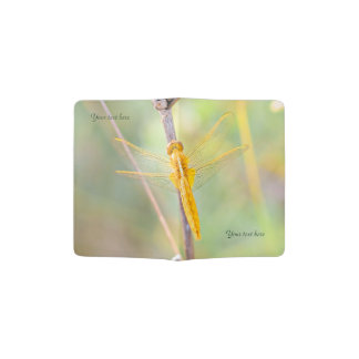 Golden Dragonfly Passport Holder