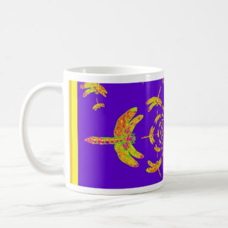Golden Dragonfly's Purple Gifts Mugs