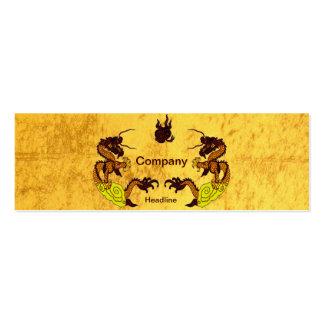 Golden Dragons Business Card