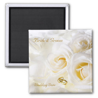 Golden Dream Wedding Favor Magnet