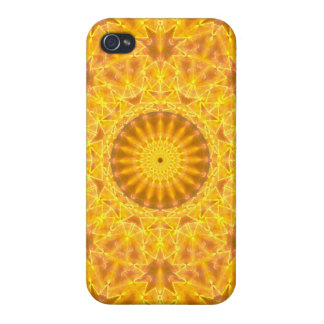 Golden Dreams Mandala Case For The iPhone 4