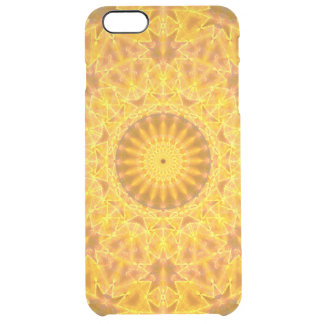 Golden Dreams Mandala Clear iPhone 6 Plus Case
