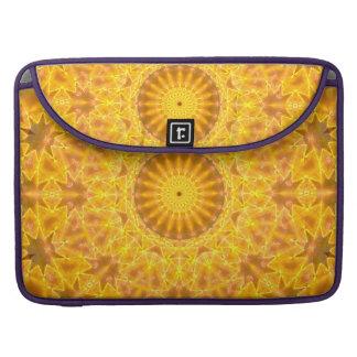 Golden Dreams Mandala Sleeves For MacBook Pro