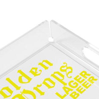 Golden Drops / Bobbie Ale Acrylic Tray