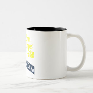 Golden Drops / Bobbie Ale Two-Tone Coffee Mug