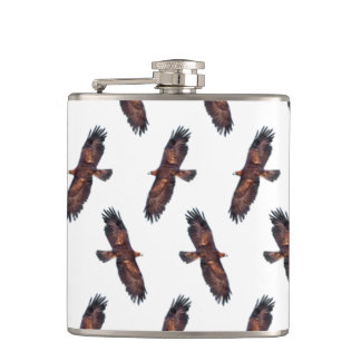 Golden Eagle Frenzy Hip Flask (choose colour)