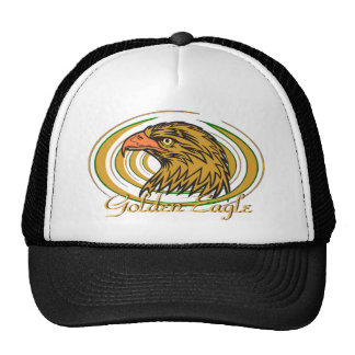 Golden Eagle Trucker Hat