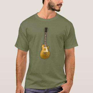 Golden electric guitar T-Shirt