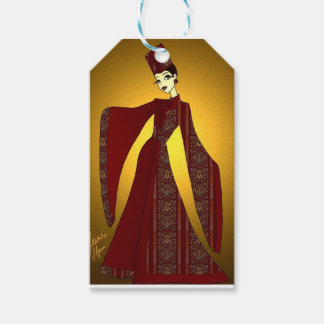 Golden Empress Gift Tags