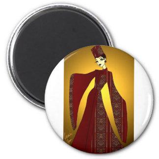Golden Empress Magnet