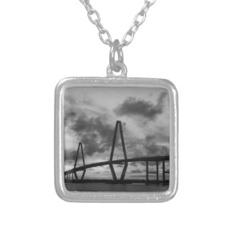 Golden Evening At Arthur Ravenel Grayscale Silver Plated Necklace
