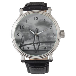 Golden Evening At Arthur Ravenel Grayscale Watch
