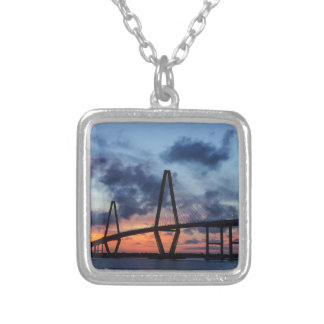 Golden Evening At Arthur Ravenel Silver Plated Necklace