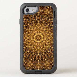 Golden Eye Mandala OtterBox Defender iPhone 8/7 Case