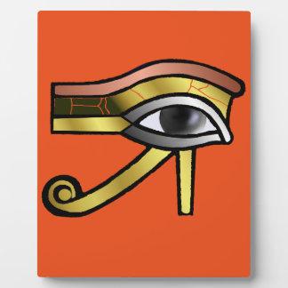Golden Eye of Horus Display Plaques
