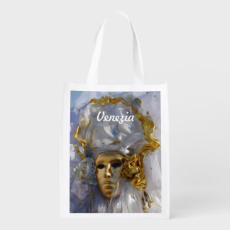 Golden Face Reusable Grocery Bag