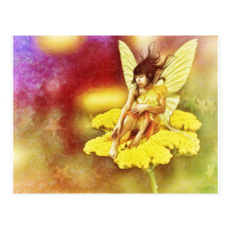 Golden Fairy by Shawna Mac Postcard