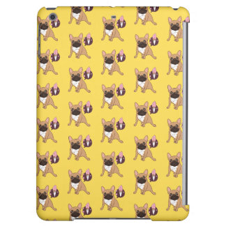 Golden Fawn French Bulldog wants an ice cream Case For iPad Air