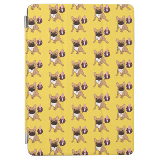 Golden Fawn French Bulldog wants an ice cream iPad Air Cover