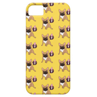 Golden Fawn French Bulldog wants an ice cream iPhone 5 Cases