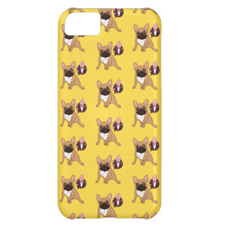 Golden Fawn French Bulldog wants an ice cream iPhone 5C Case