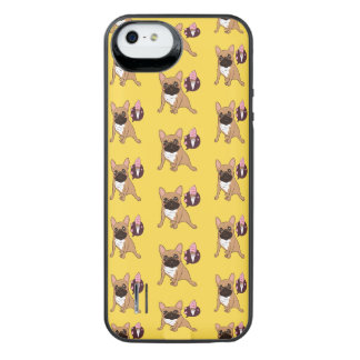 Golden Fawn French Bulldog wants an ice cream iPhone SE/5/5s Battery Case