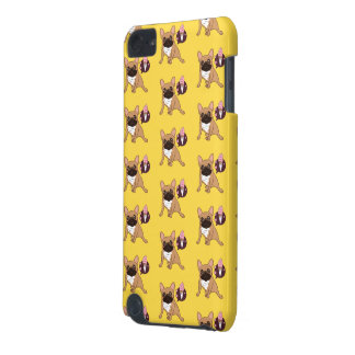 Golden Fawn French Bulldog wants an ice cream iPod Touch (5th Generation) Cover