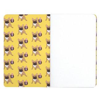 Golden Fawn French Bulldog wants an ice cream Journal