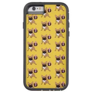 Golden Fawn French Bulldog wants an ice cream Tough Xtreme iPhone 6 Case