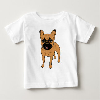 Golden Fawn Frenchie Baby T-Shirt
