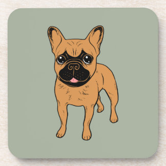 Golden Fawn Frenchie Coaster