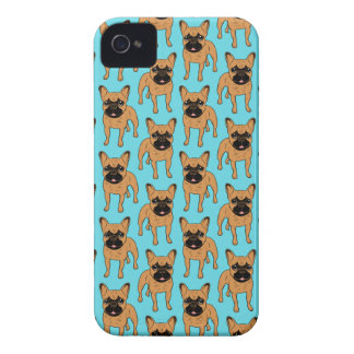 Golden Fawn Frenchie iPhone 4 Covers