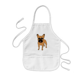 Golden Fawn Frenchie Kids Apron