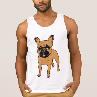 Golden Fawn Frenchie Singlet