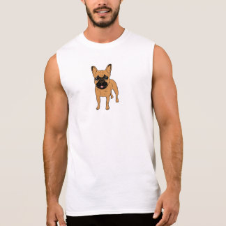 Golden Fawn Frenchie Sleeveless Shirt