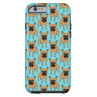 Golden Fawn Frenchie Tough iPhone 6 Case