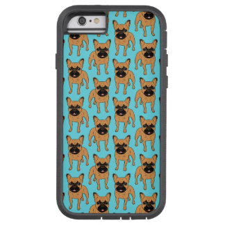 Golden Fawn Frenchie Tough Xtreme iPhone 6 Case