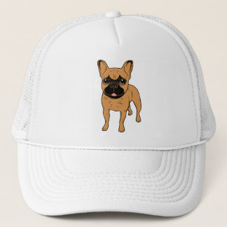 Golden Fawn Frenchie Trucker Hat