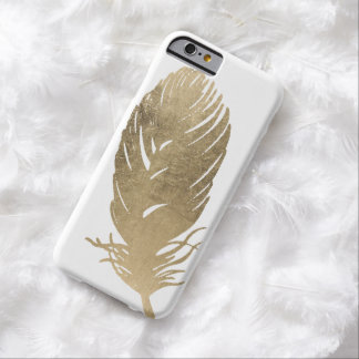 Golden Feather Barely There iPhone 6 Case