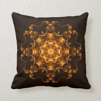 Golden fibula cushions