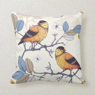 Golden Finch Cushion