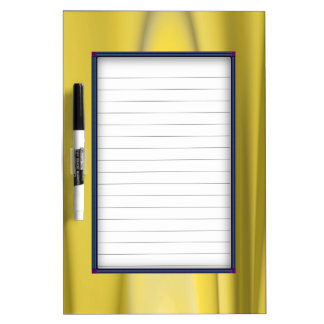 Golden Flame Dry-Erase Board