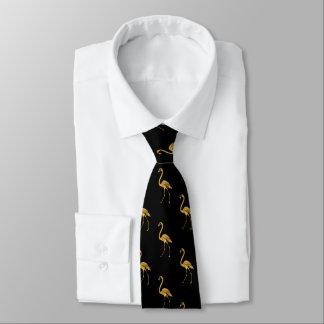 Golden Flamingo TP Tie