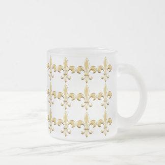 Golden Fleur De Lis Coffee Mug