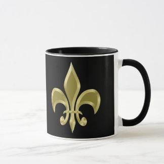 Golden Fleur-de-Lis Mug
