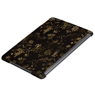Golden floral case for iPad air