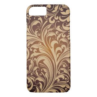 Golden floral Pattern Case