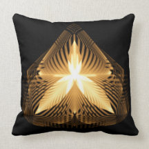 Golden Flourish 1 Pillows